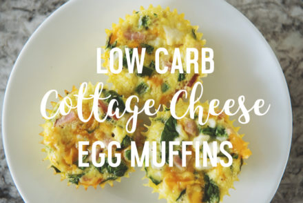 high protein egg muffin keto