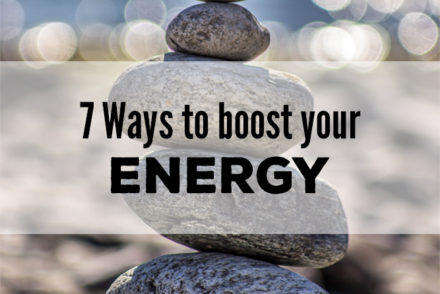 Boost Energy Isagenix