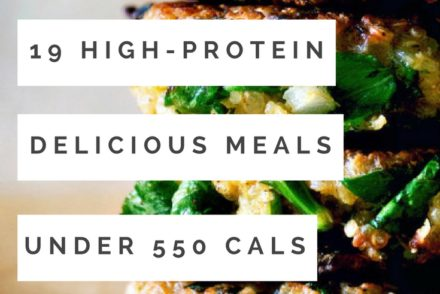 19 high protein meals