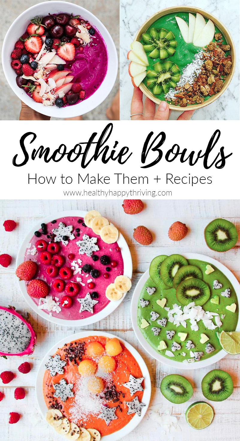 smoothie fruit bowl