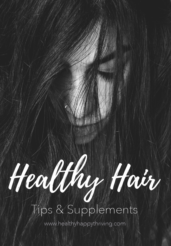 healthy hair growth supplements