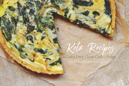 quiche keto low carb dairy free paleo grain free